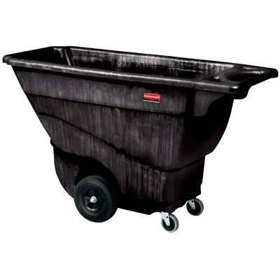 Rubbermaid - 1867539 - Executive Tilt Truck 3/4 cubic yard structural foam with quiet casters