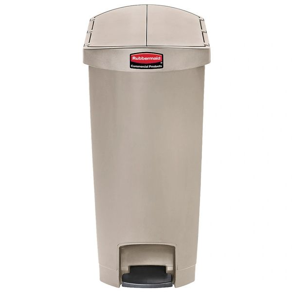 Rubbermaid - 1883560 - Slim Jim End Step Resin Step On - 18 Gallon
