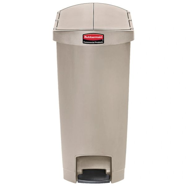 Rubbermaid - 1883571 - Slim Jim End Step Resin Step On - 24 Gallon