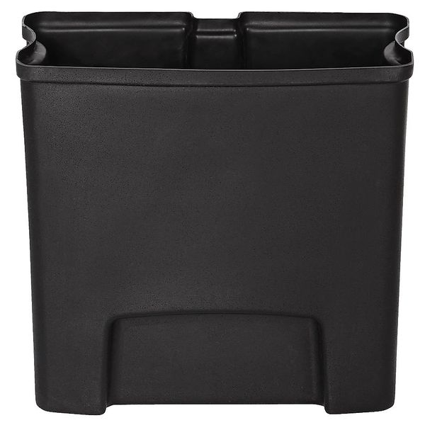Rubbermaid - 1883617 - Rigid Liner For Slim Jim Resin Frontstep - Black