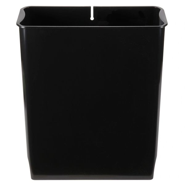 Rubbermaid - 1883623 - Rigid Liner For Slim Jim Resin Endstep - Black