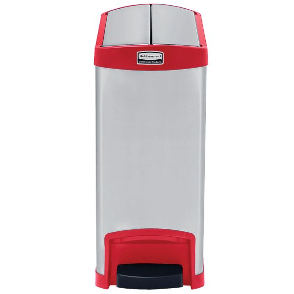 Rubbermaid - 1901989 - Slim Jim Endstep Metal Step On - 8 Gallon