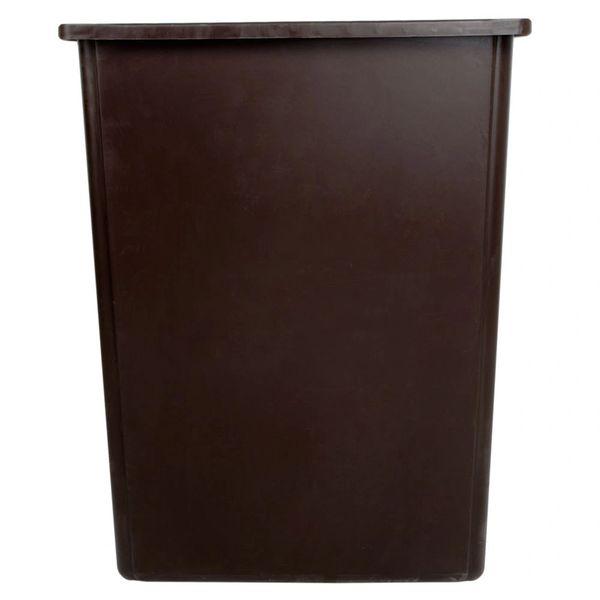 Rubbermaid - 256B00 - Glutton Brown Trash Can - 56 Gallon