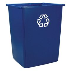 Rubbermaid - 256B73 - Glutton Recycling Container - 56 Gallons