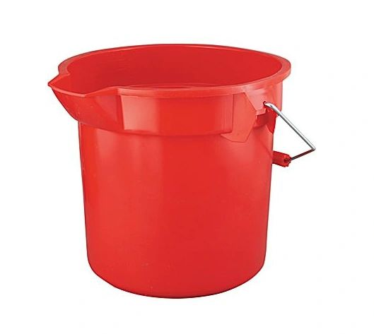 Rubbermaid - 261400 - BRUTE Round Bucket - 14Qt
