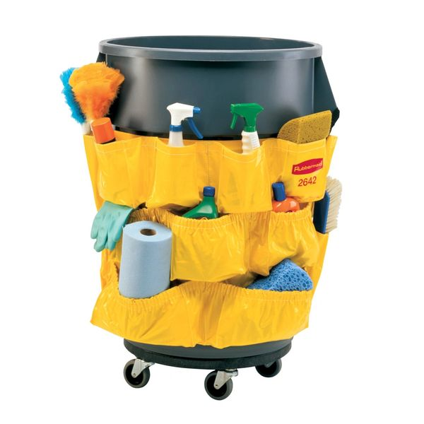 Rubbermaid - 264200 - BRUTE Caddy Bag - Yellow