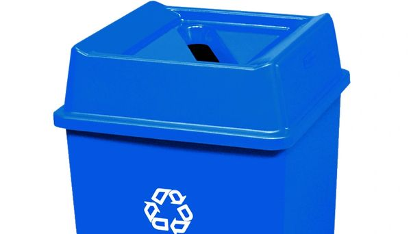 Rubbermaid - 279400 - Untouchable Paper Recycling Top