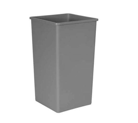Rubbermaid - 395900 - Untouchable Square Waste Container - 50 Gallon