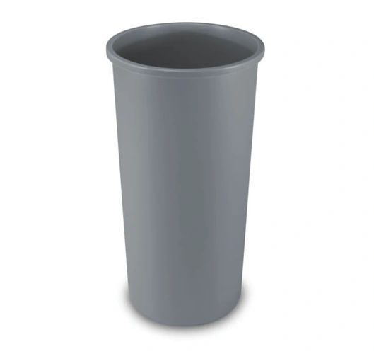 Rubbermaid - 354600 - Untouchable Round Waste Container - 22 Gallon