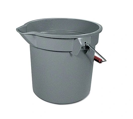 Rubbermaid - 296300 - BRUTE Round Bucket - 10Qt