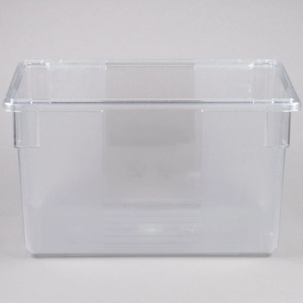 Rubbermaid - 330100 - Clear Food Storage Box - 21 1/2 Gallon