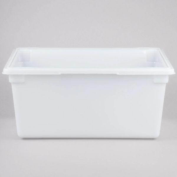 Rubbermaid - 352800 - White Polyethylene Food Storage Box - 16 5/8 Gallon