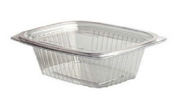 Genpak - AD04 - 4oz Clear Hinged Lid Container