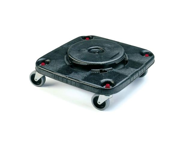 Rubbermaid - 353000 - Square Brute Dolly for 28 and 40 gal (106L,151.4L) Square Brute Containers