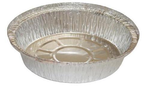 """HFA - [2047-25-500] - 7"""" Round Aluminum Container - 25GA - 500/CS"""