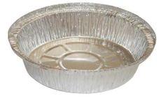 """WP - [508B] - 8"""" Round Aluminum Container - 30GA - 500/CS"""