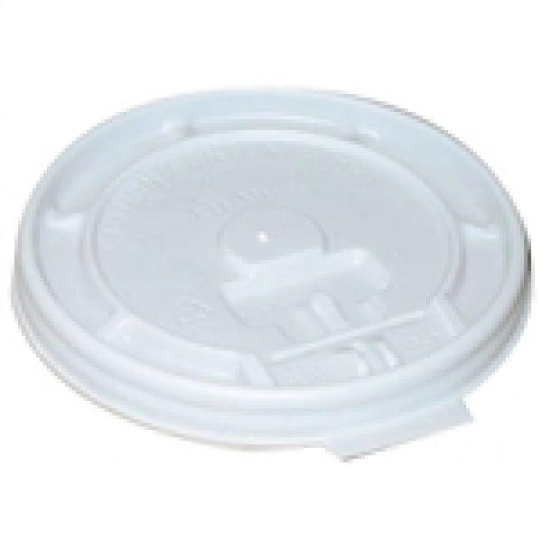 Genpak - [FBS800] - Translucent Plastic Lid - 1000/CS