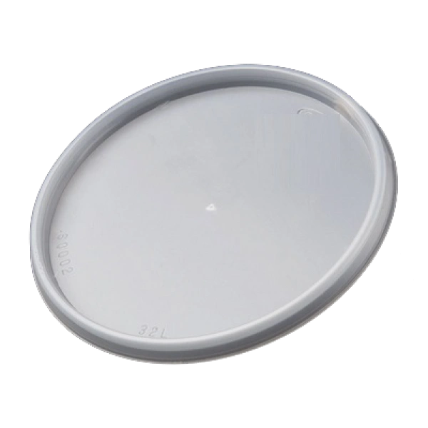 Genpak - [PL16-500] - Lids for Foam Food Container - 500/CS