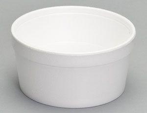 Genpak - [12C] - 12oz Foam Food Container - 500/CS