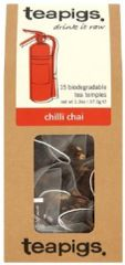 Teapigs Tea - Retail Pack - Chilli Chai Tea Bags - 15/Pack