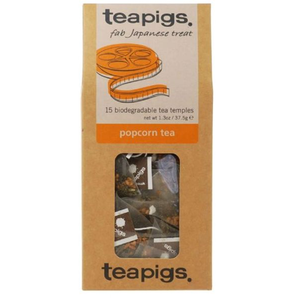 Teapigs Tea - Retail Pack - Popcorn Tea - 15/Pack