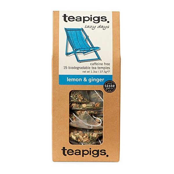 Teapigs Tea - Retail Pack - Lemon & Ginger Tea - 15/Pack