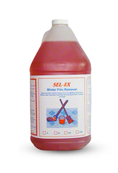 SEL-EX Winter Film Remover - 4 x 4L/CS