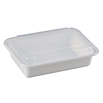 Microwavable Container - 32oz - Rectangular [T32]