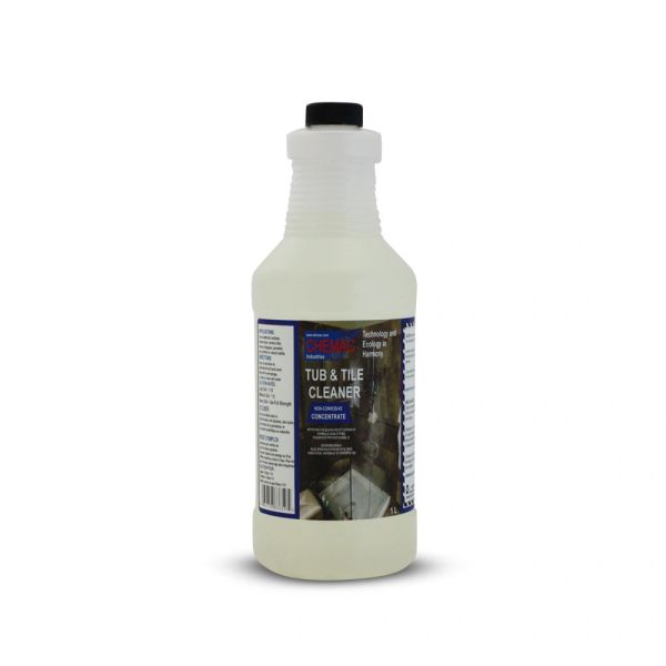 TUB & TILE CLEANER, 4 X 1L