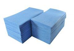 FOOD SERVICE TOWELS - BLUE 100/BOX