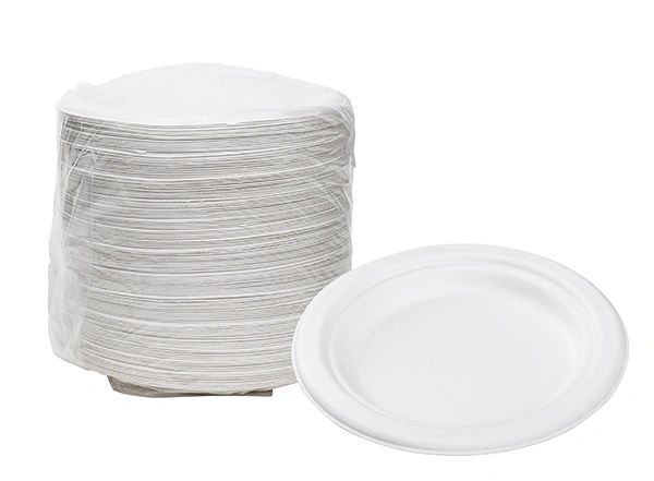 "TOUCH - [12-101] - 6"" BIODEGRADABLE PLATES - 1000/CS"