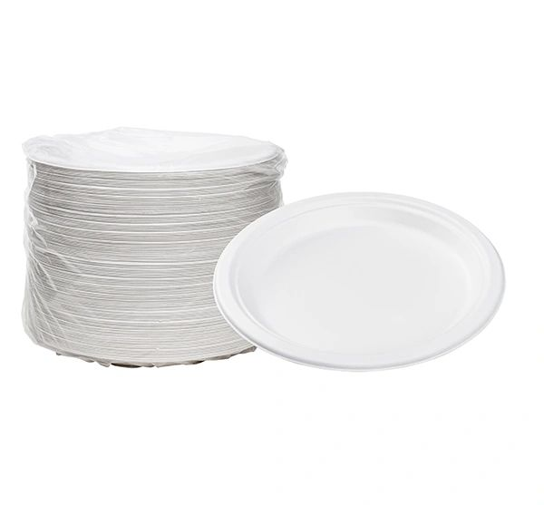 "TOUCH - [12-104] - 9"" BIODEGRADABLE PLATES - 500/CS"