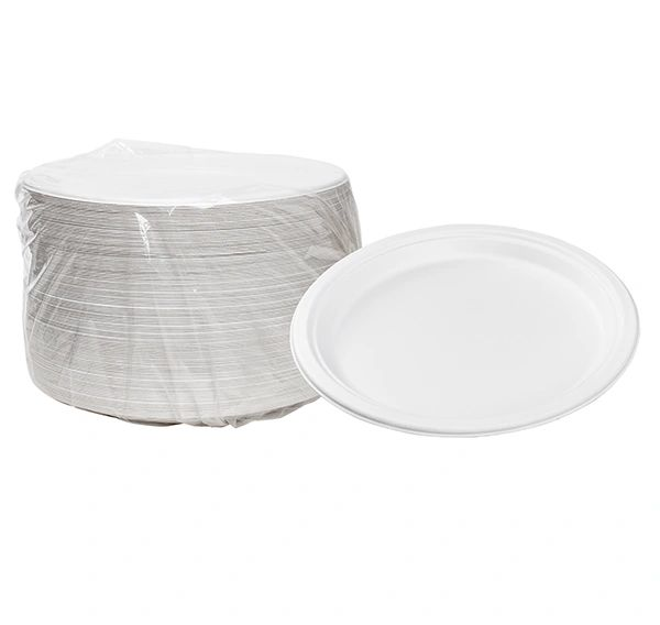 "TOUCH - [12-106] - 10.25"" BIODEGRADABLE PLATES - 500/CS"