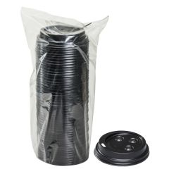 TOUCH - [20904] - LIDS FOR TOUCH HOT CUPS 8 OZ - BLACK - 1000/CS