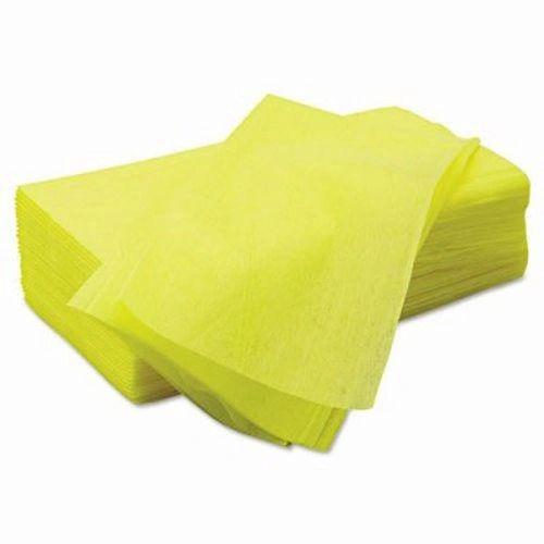 "CANARY TREATED DISPOSABLE DUST CLOTHS 23"" X 24"" - YELLOW - [50/PK x 10PK/CS]"