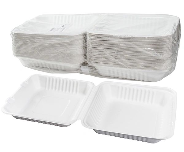 "TOUCH - [12-114] - 9"" BAGASSE MEAL CONTAINER - 200/CS"