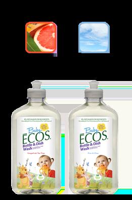 Disney Baby ECOS Natural Bottle & Dish Wash