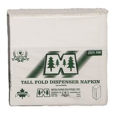 Junior Dispenser Napkins - 1 Ply - [JDN18500] - Metro - 9000/CS