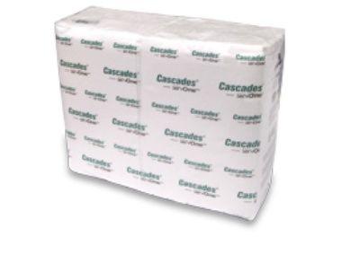 Dispenser Napkins - 1 Ply, White - [2410] - Cascades ServOne - 6016/CS