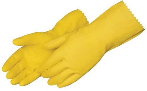 Latex Rubber Gloves - Individually Packed [12I-632] - S/M/L - Pair