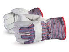 Fitters Gloves - Split Leather - [45IT2MBC] - Mens - Dozen