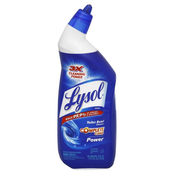 "Lysol Toilet Bowl Cleaner - ""Power"" - [34092] - 710ml/Bottle"