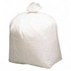White Wastebasket Liners - 500/CS