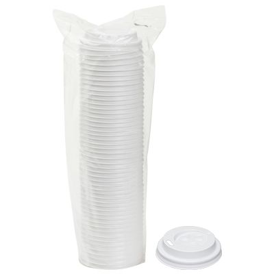 TOUCH - [20-900] - LIDS FOR TOUCH HOT CUPS 4 OZ - WHITE - 1000/CS
