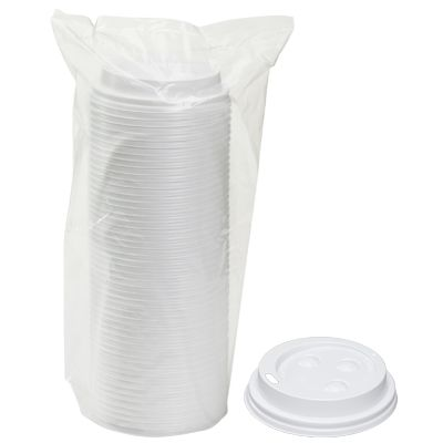 TOUCH - [20904] - LIDS FOR TOUCH HOT CUPS 8 OZ - WHITE - 1000/CS