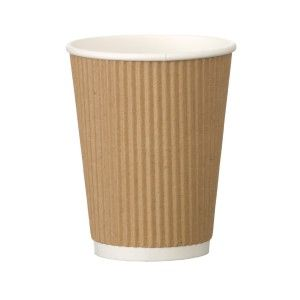 TOUCH - [20-206] - 10 OZ RIPPLED WALL PAPER CUP - 1000/CS