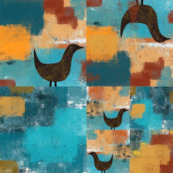 Four Funny Birds