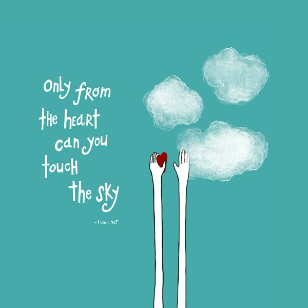 Only From the Heart - Rumi