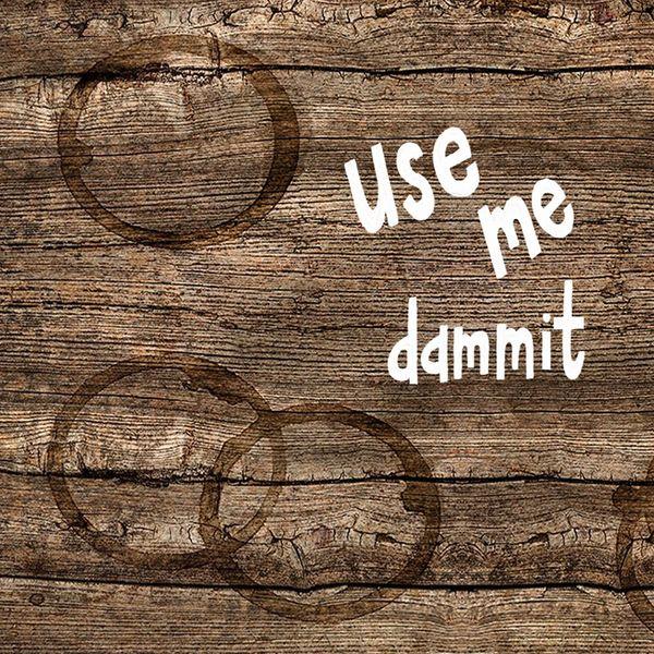 Use Me Dammit