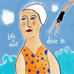 Life is Short Dive In